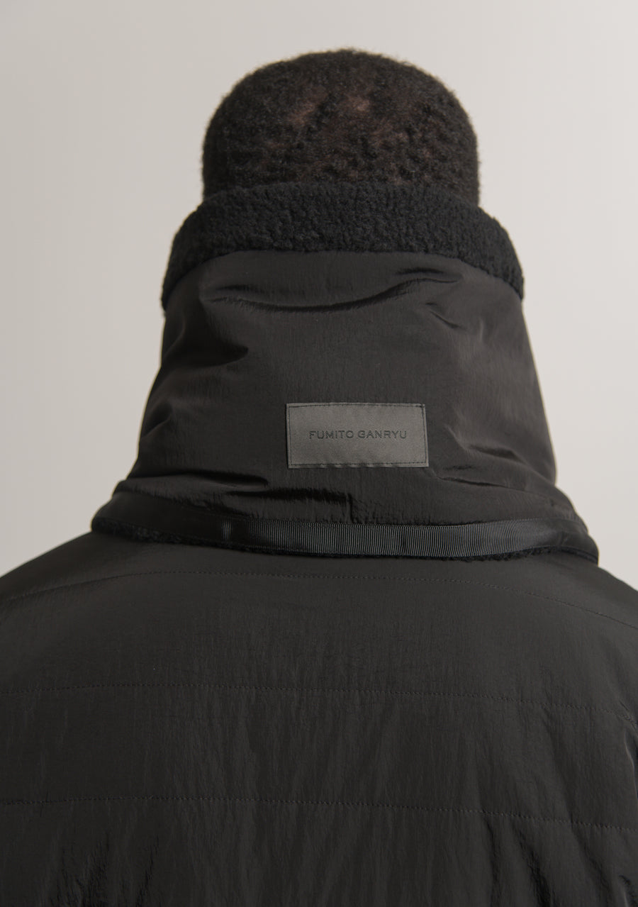 Fleece Neck Warmer Black