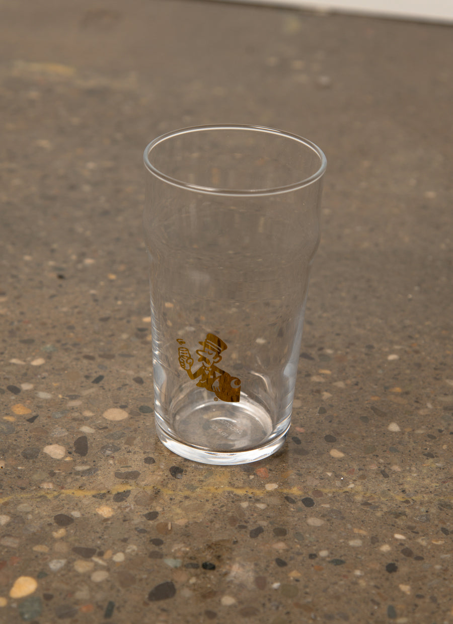 King's Cross Pint Glass Gold