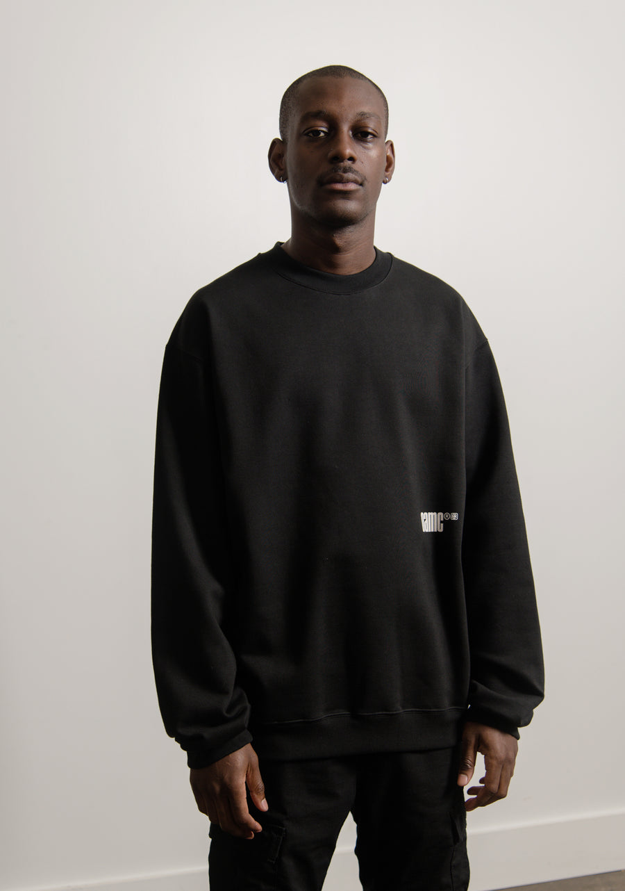 Daido Crewneck Sweater Black
