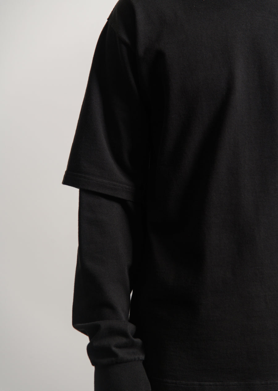 8oz. Double Utility BM Tee Black