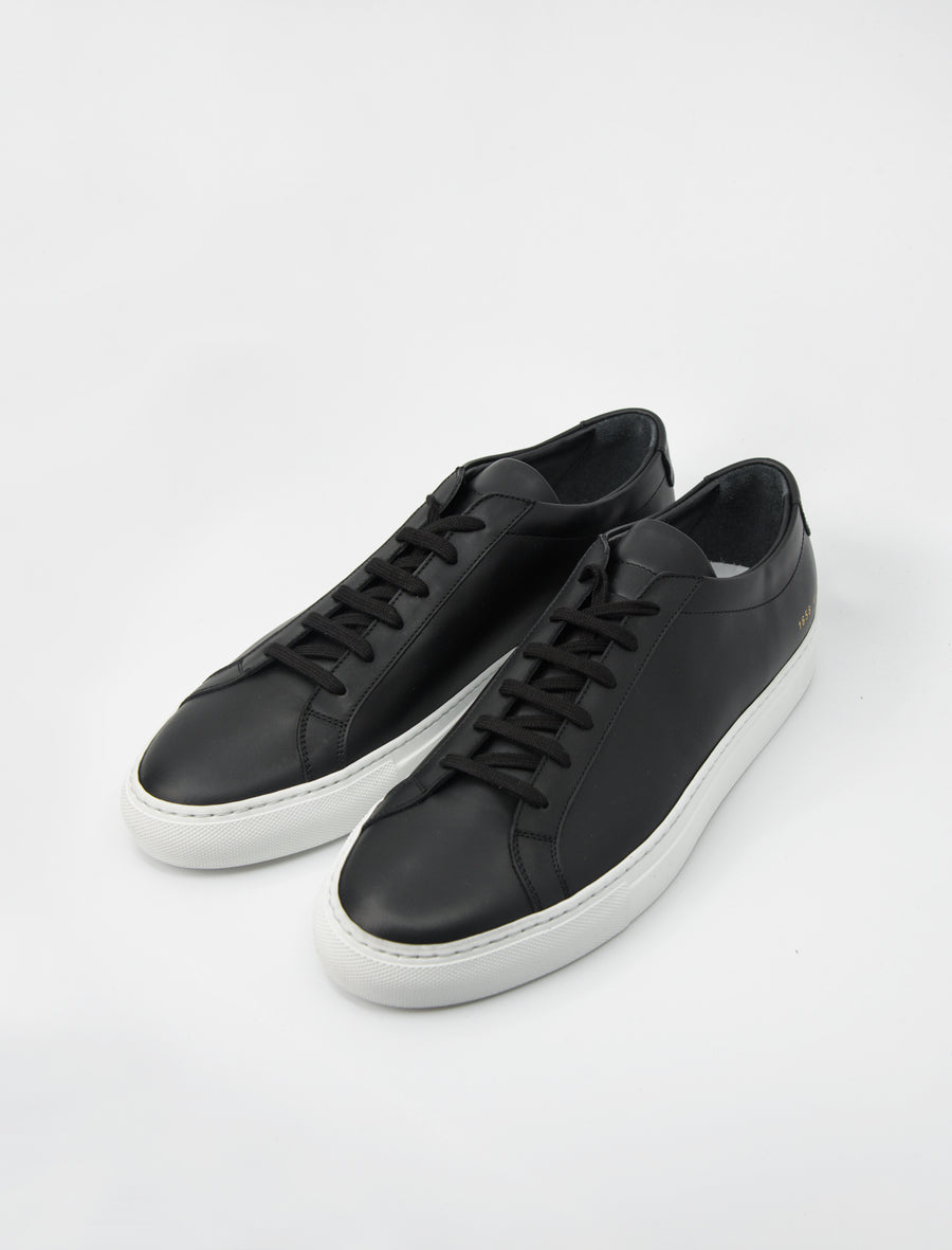 Achilles Low Black/White