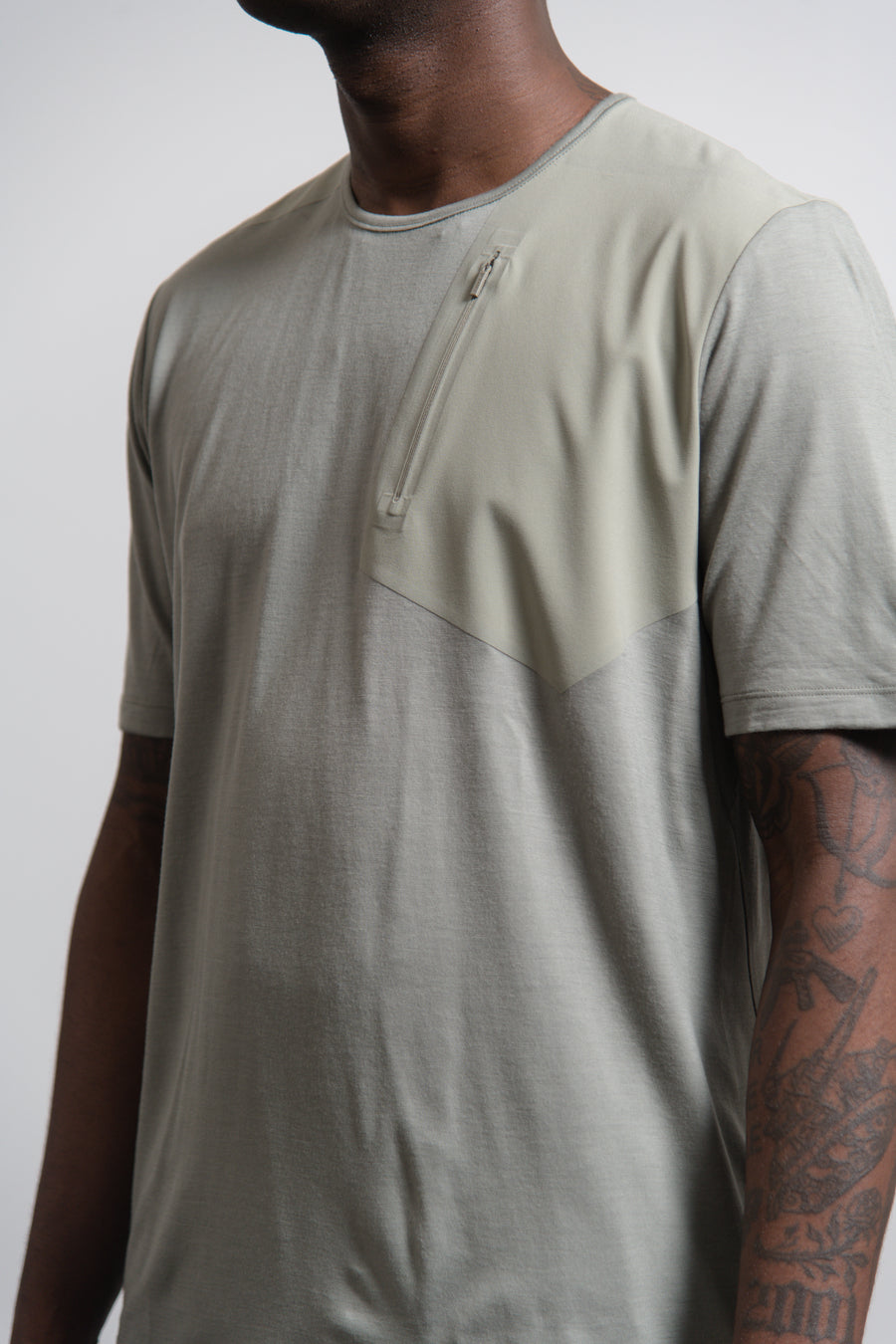 Frame Pocket Short Sleeve Shirt Moondust