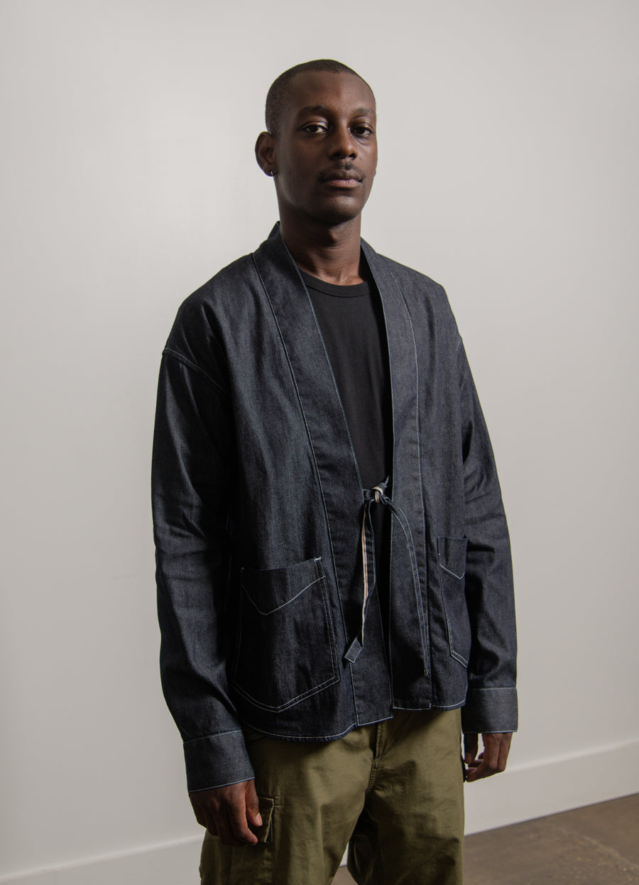 Social Sculpture Lhamo Shirt One Wash Indigo