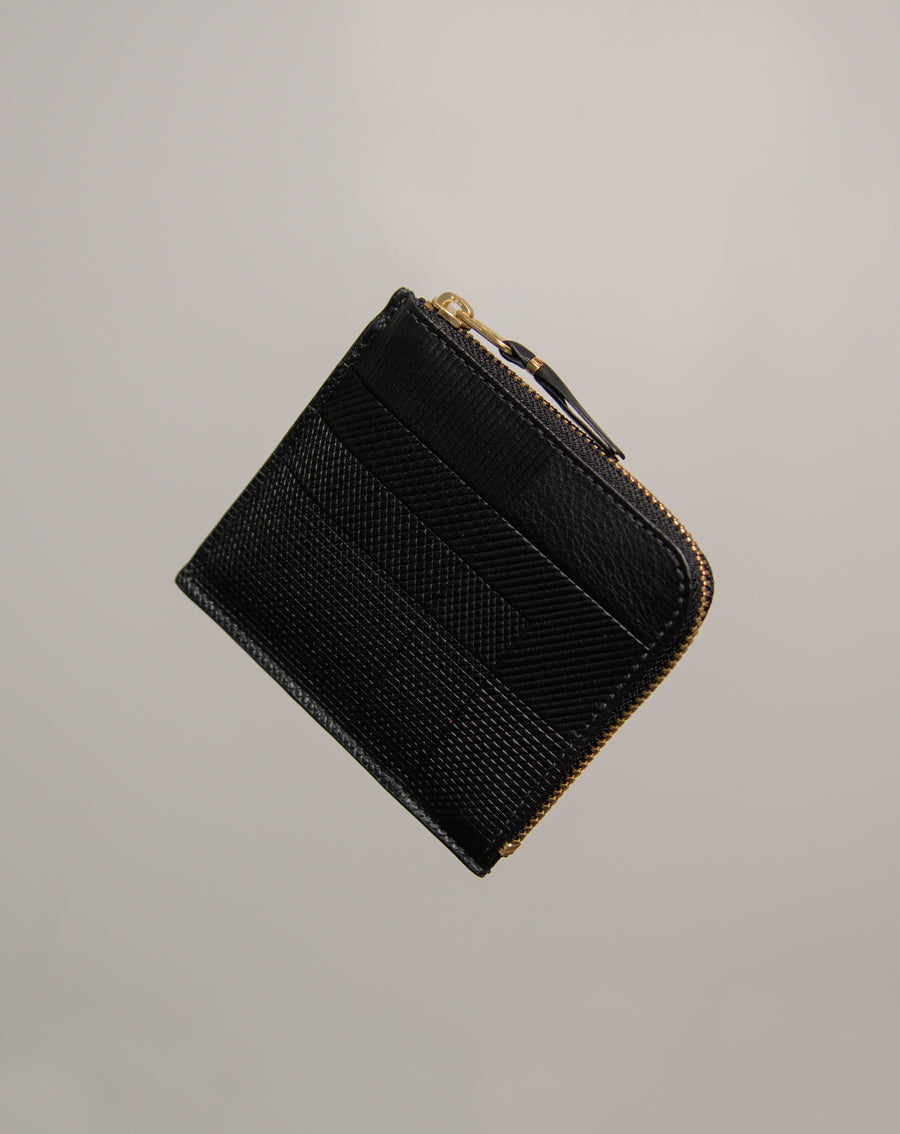 Intersection 2-Sided Zip Wallet Black 3100LS