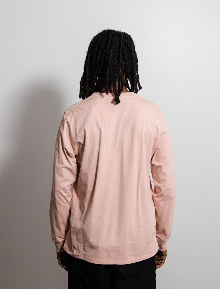 L/S Pocket Tee Powder