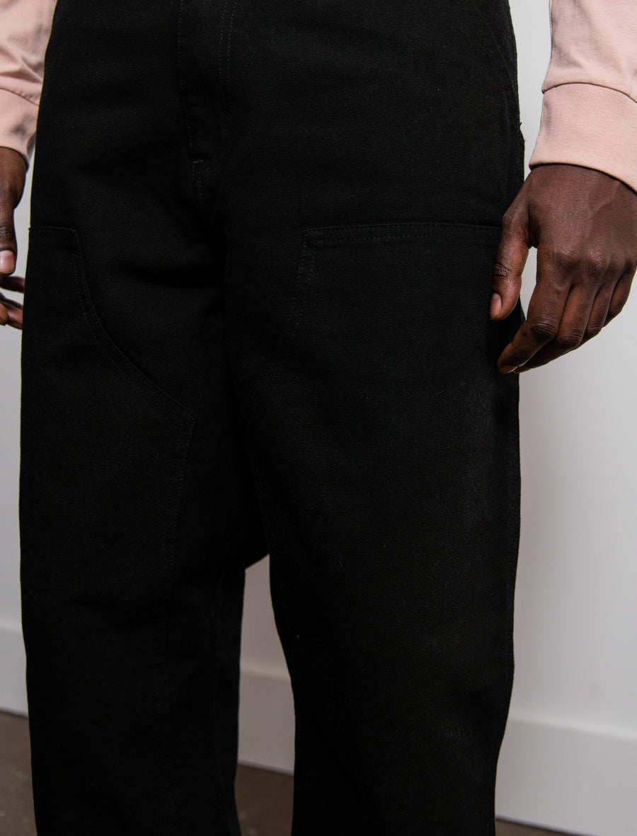 Double Knee Pant Black