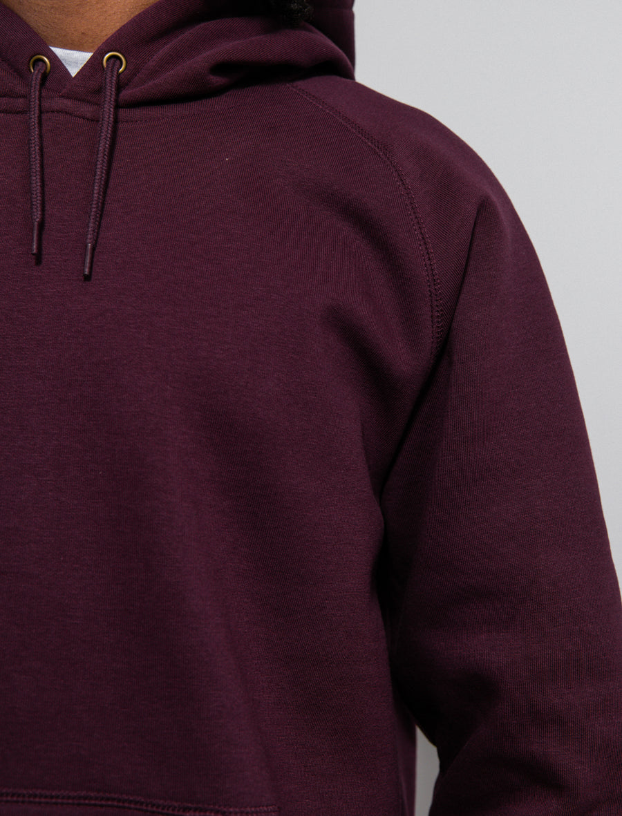 Chase Hoodie Shiraz/Gold