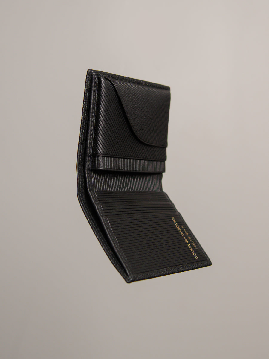 Intersection Bifold Wallet Black 0641LS