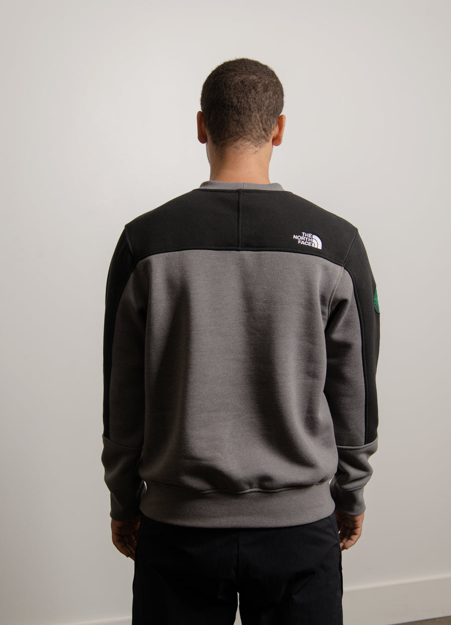 Graphic Patch Sweater Grey/Black