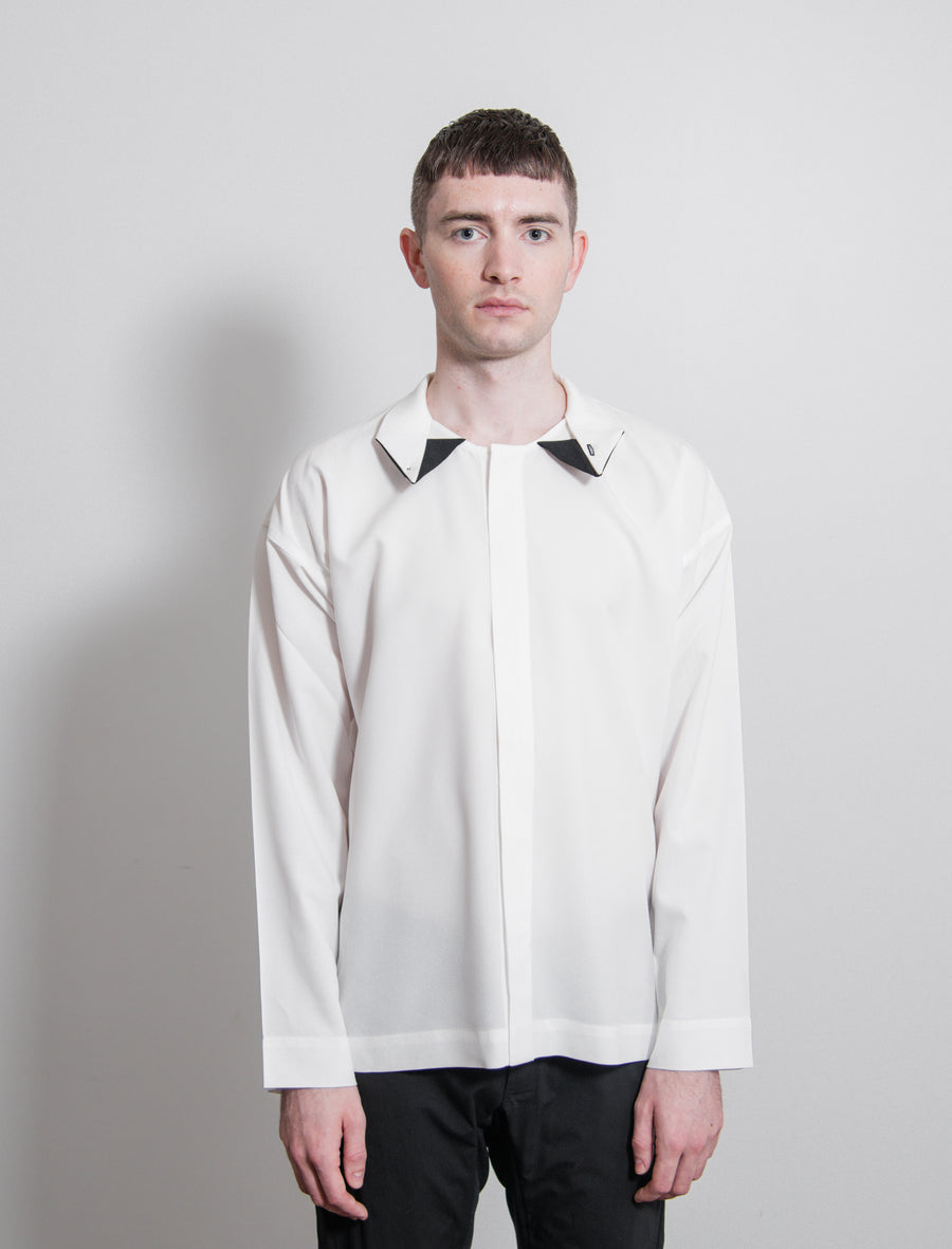 Bow Tie Press Shirt White/Black