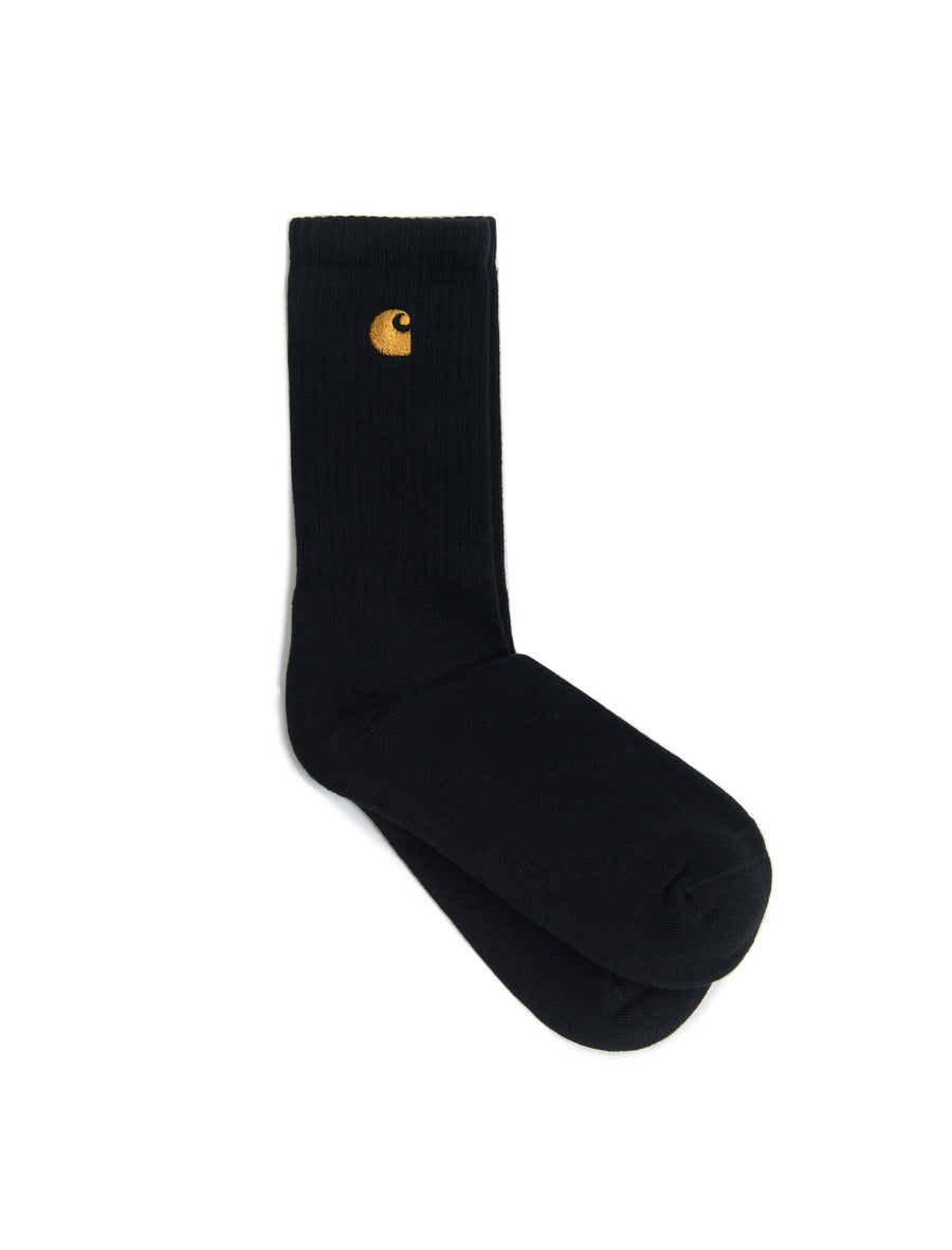 Chase Sock Black/Gold