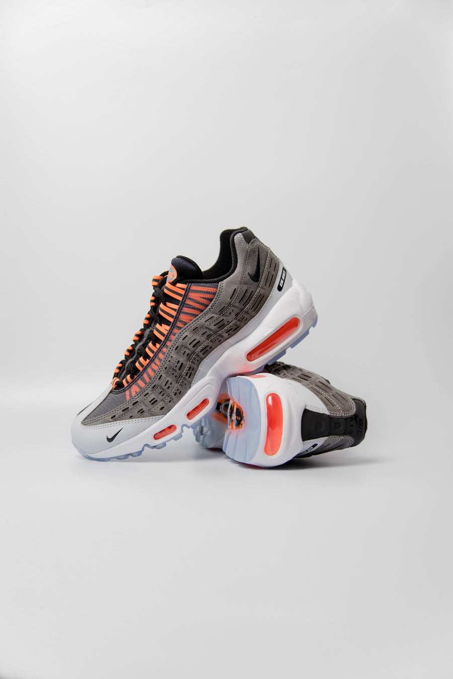 Kim Jones Air Max 95 Black/Total Orange/Dark Grey/Cool Grey DD1871-001 (LAUNCH PRODUCT)