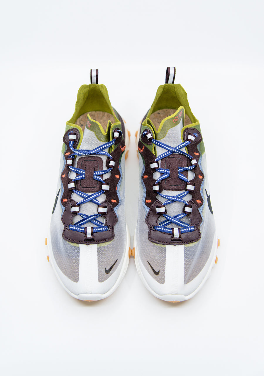 React Element 87 Dusty Moss/Black/Deep Royal Blue AQ1090-300