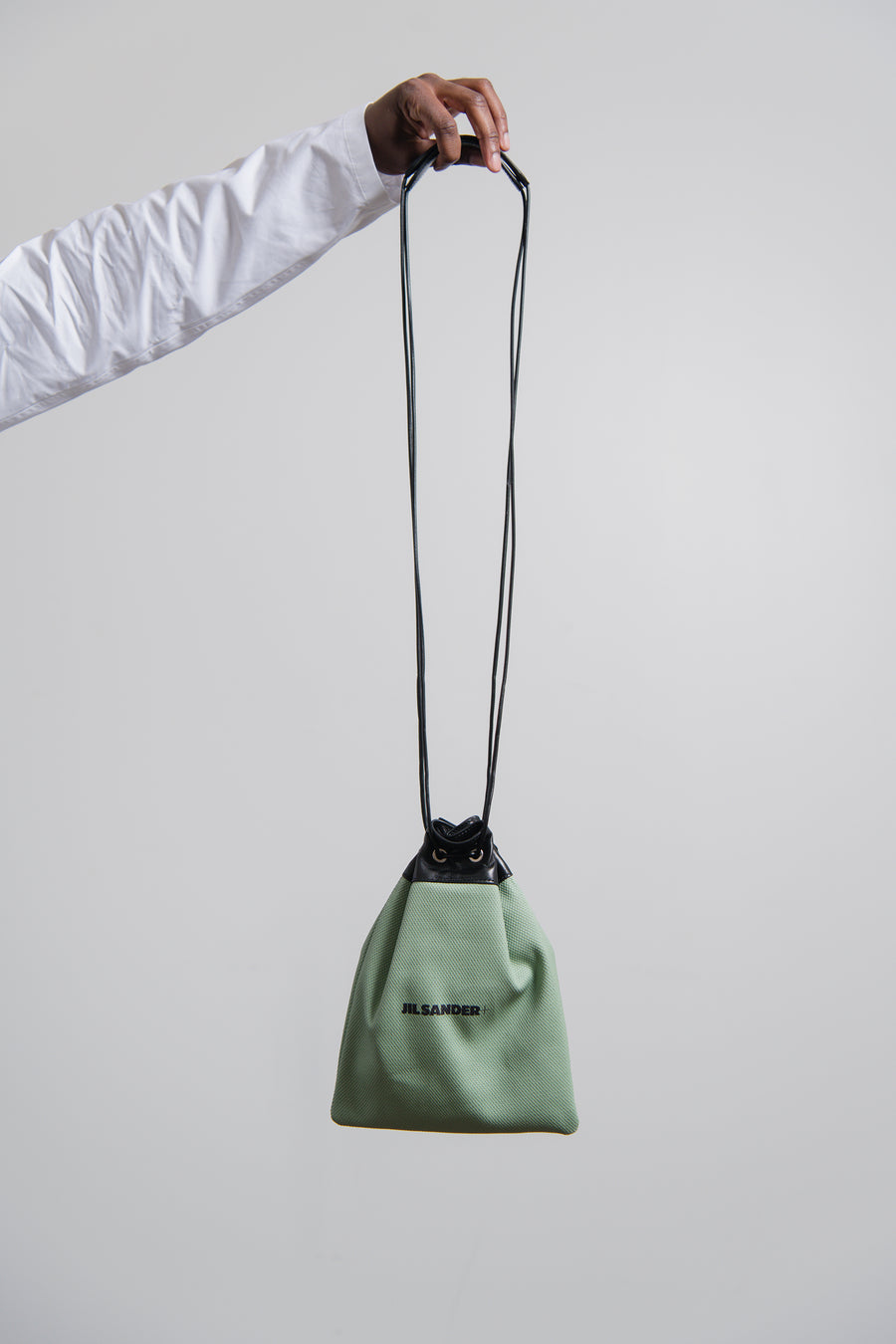Drawstring Pouch Light Pastel Green