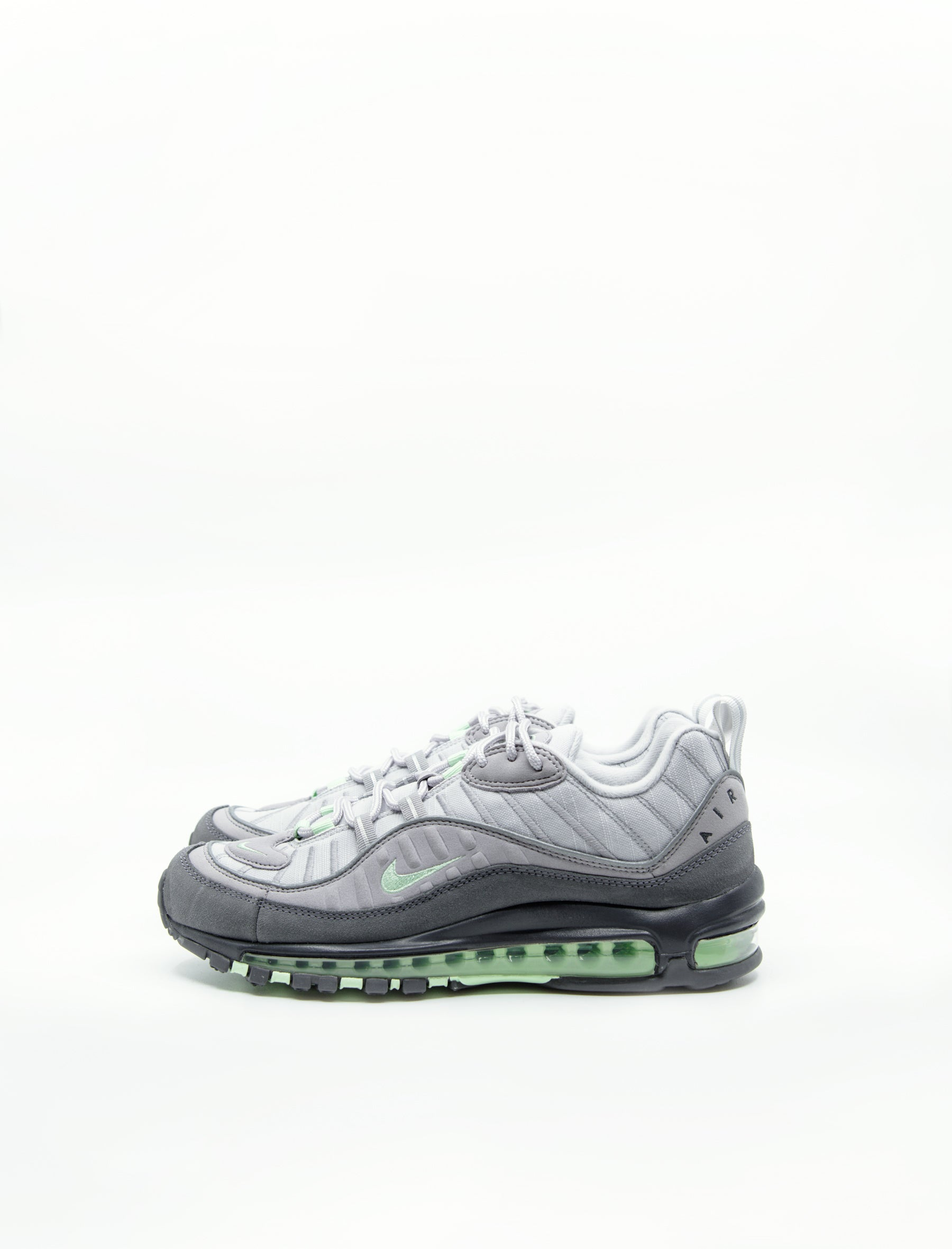 check out c6ca0 44748 Nike Air Max 98 Vast Grey Fresh Mint Atmosphere Grey 640744-011 - NOMAD