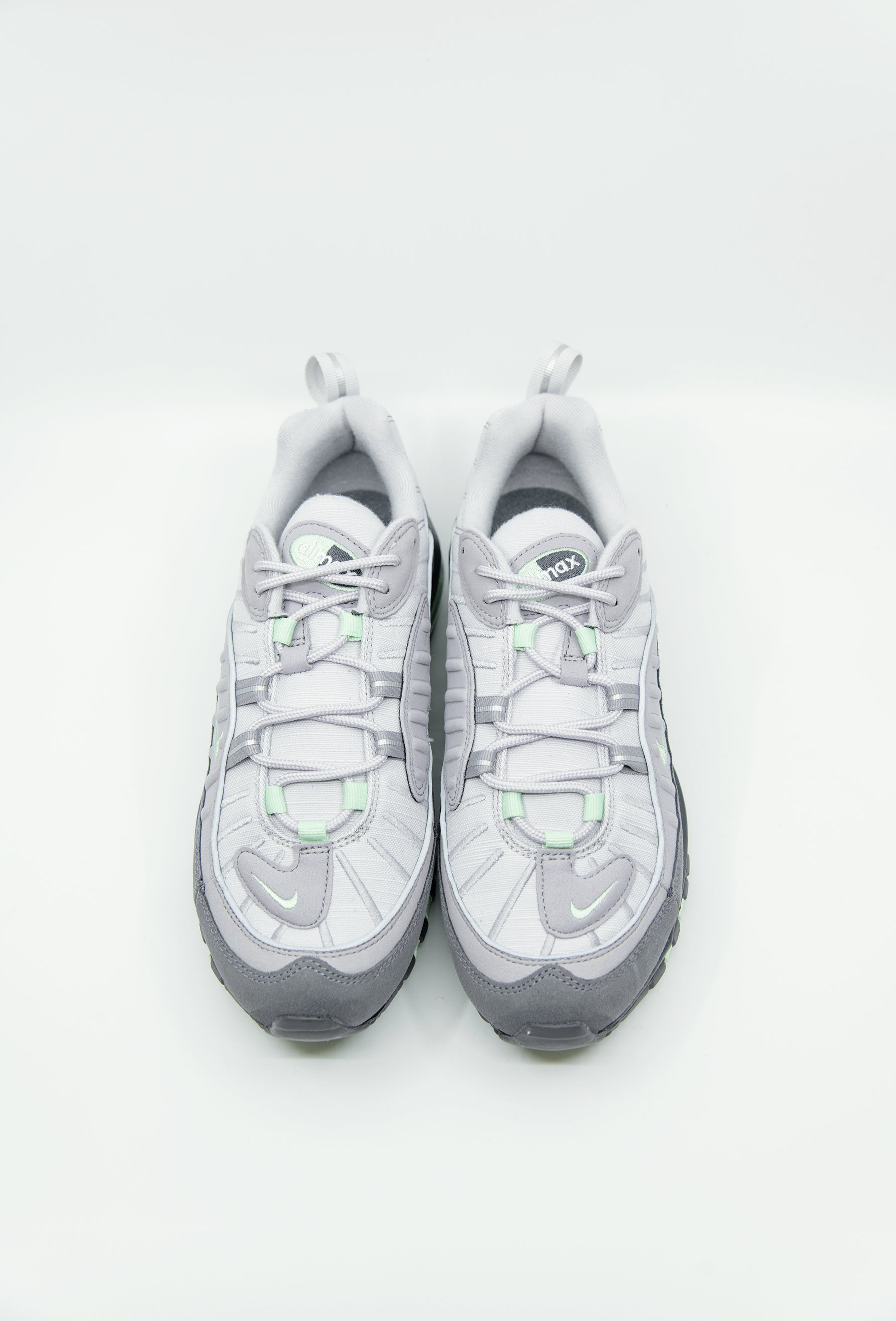 803628aa5e0a Nike Air Max 98 Vast Grey Fresh Mint Atmosphere Grey 640744-011 - NOMAD