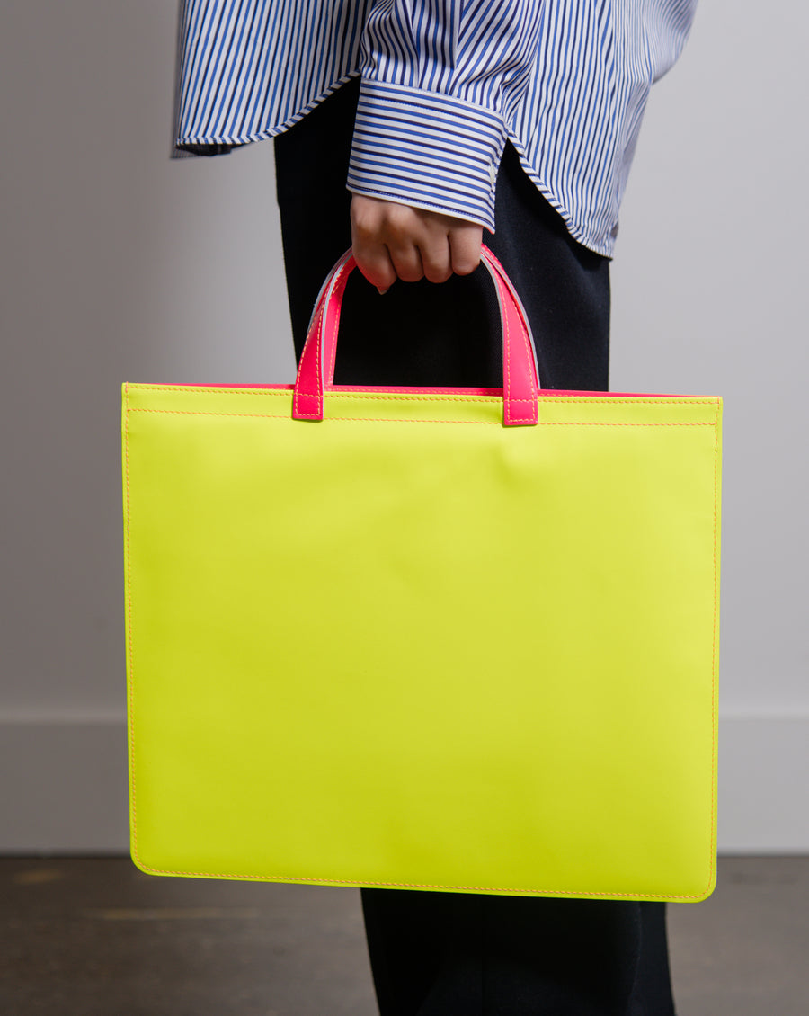Super Fluo Tote Bag Yellow/Orange/Pink