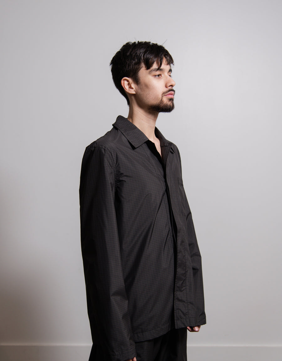 Tech Archive Shirt Chelsea Check Charcoal