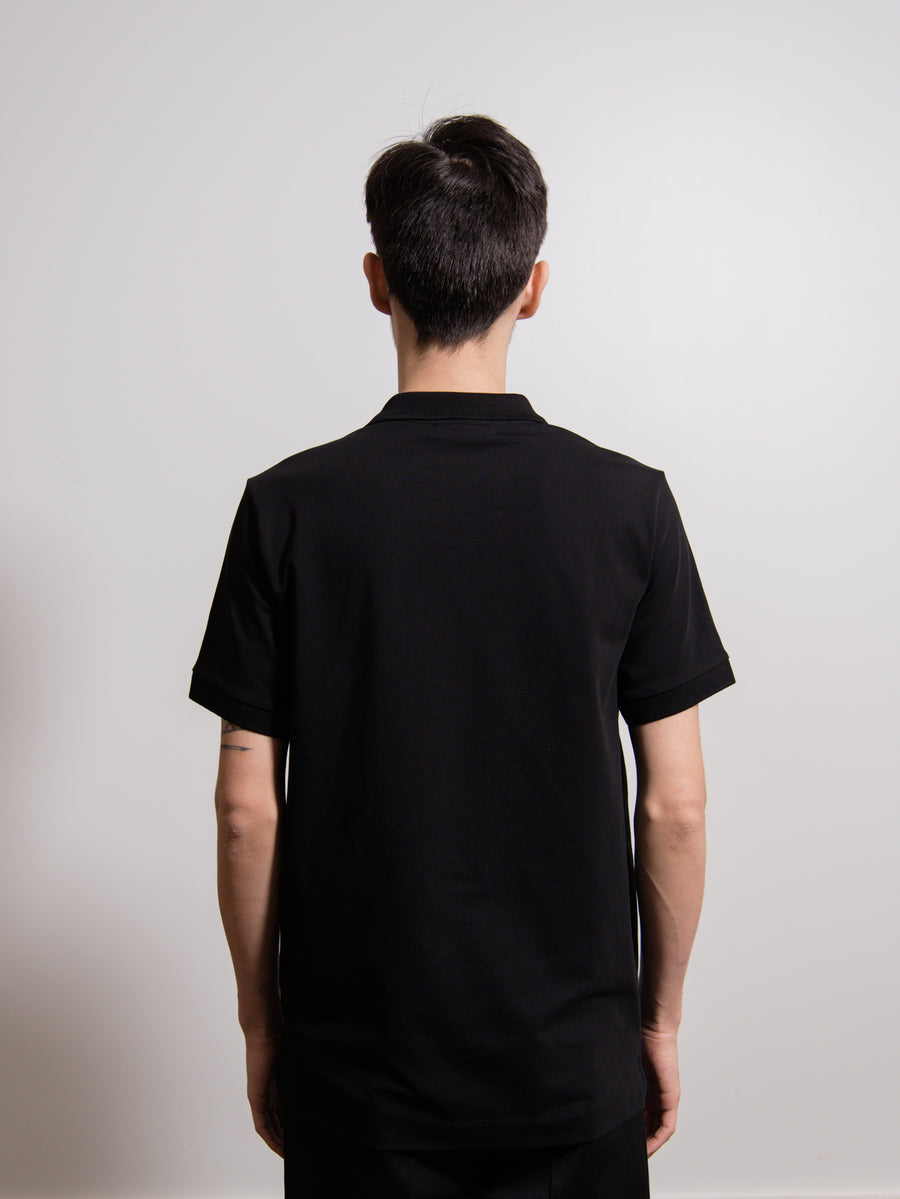 JS+ Polo Shirt Black
