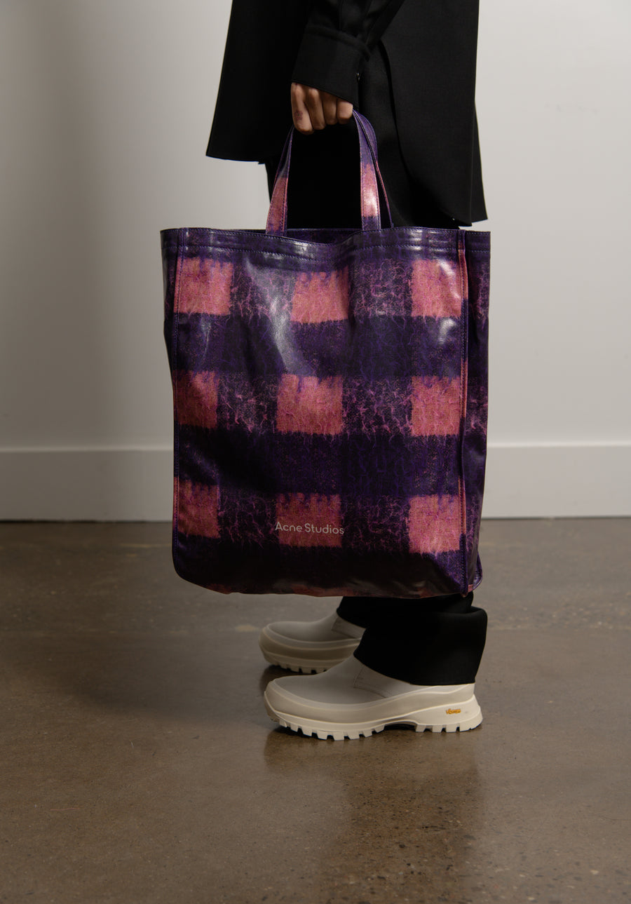 Tote Bag Blue/Pink