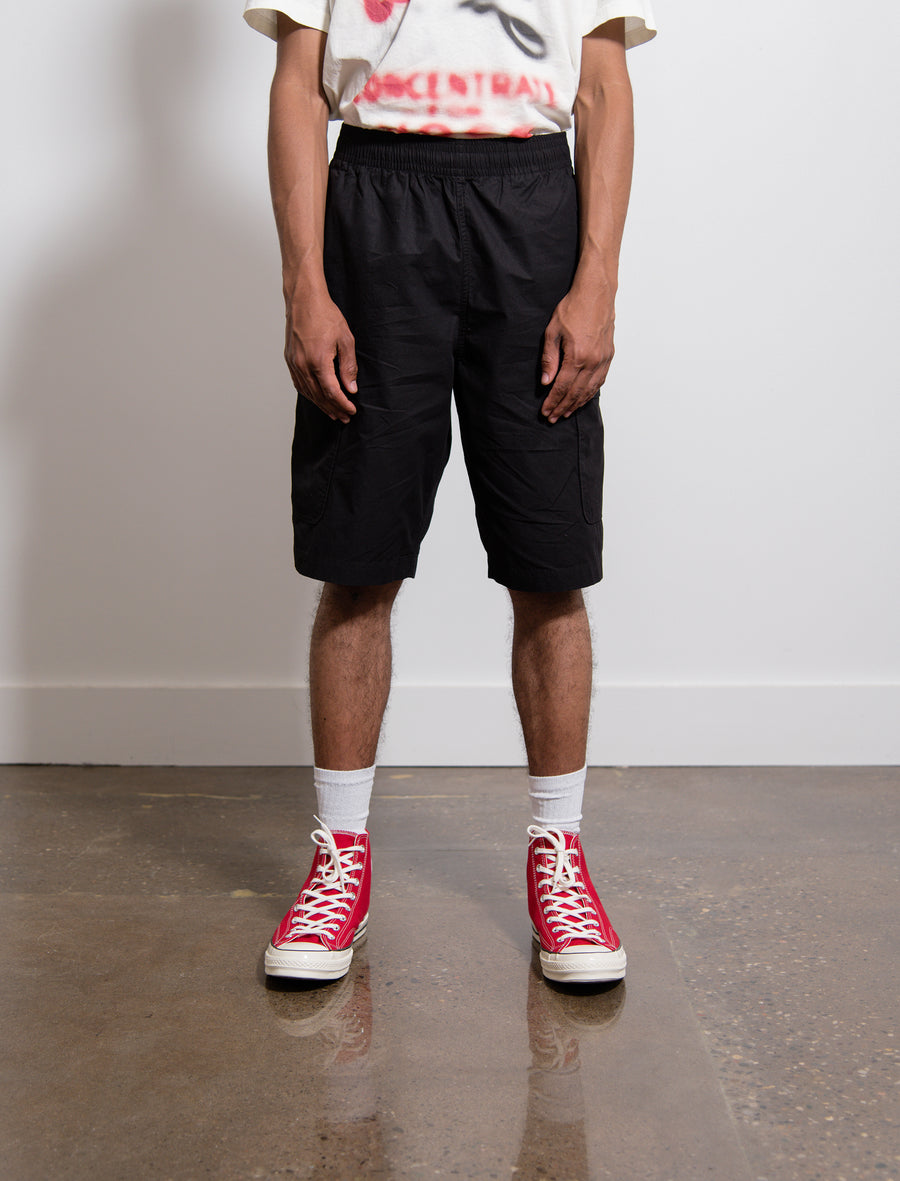 Parachute Cotton Rest Cargo Short Washed Black