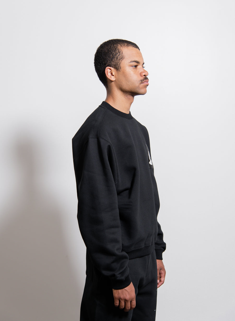 Frank Crewneck Sweater Black