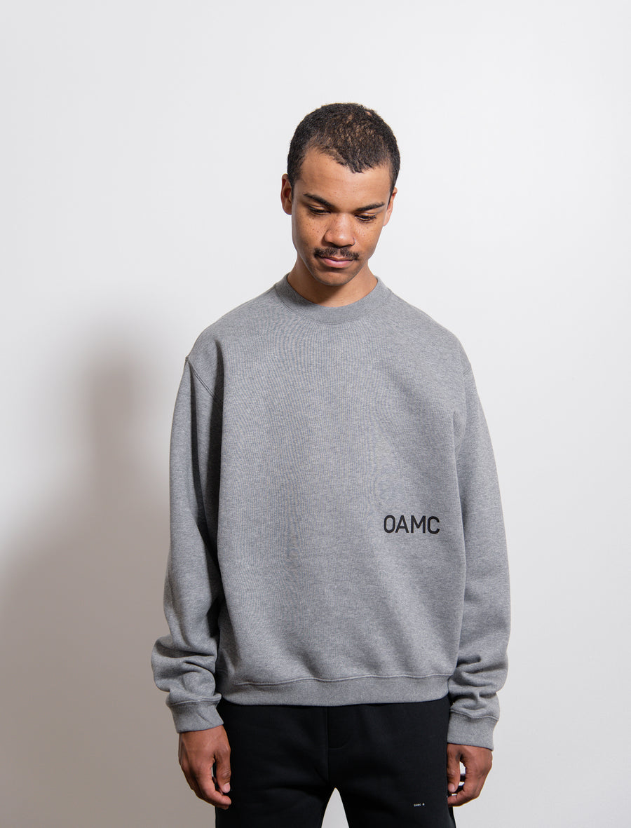 Noise Crewneck Sweater Heather Grey