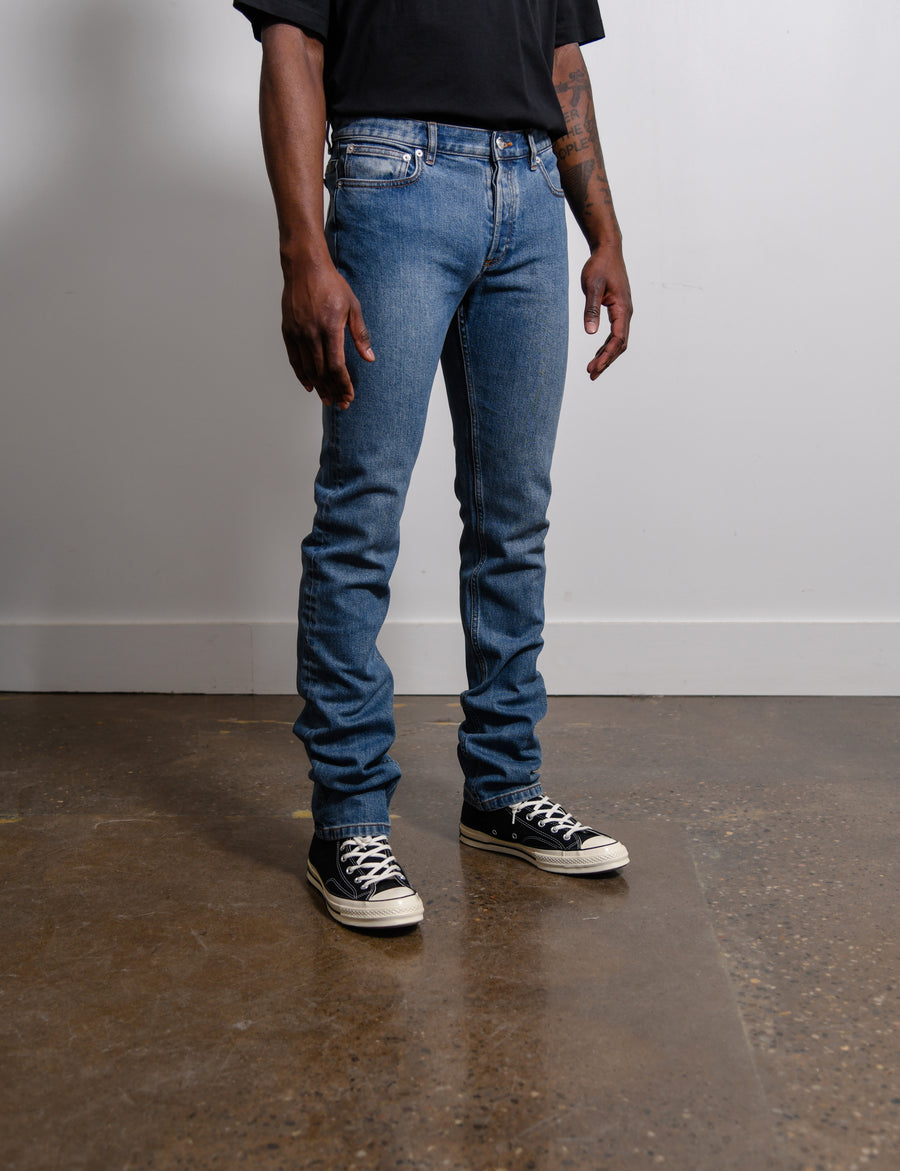 Petit Standard Denim Washed Indigo