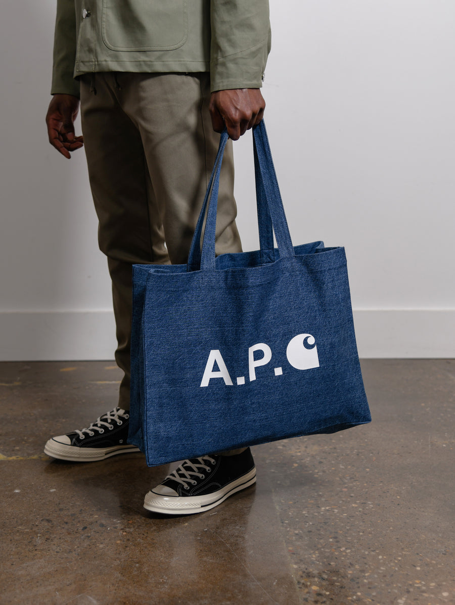 Carhartt WIP Alan Tote Bag Washed Indigo