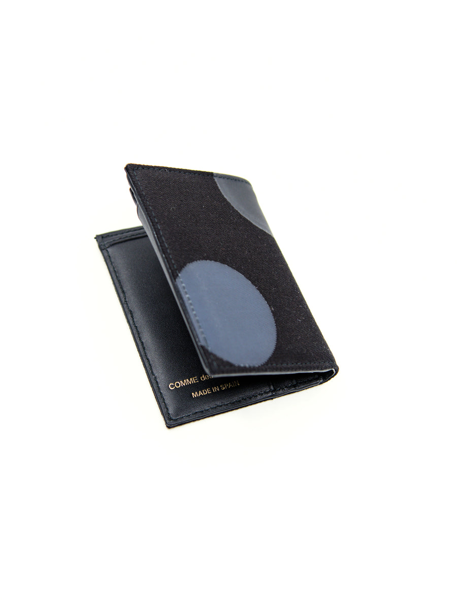 Bifold Rubber Dot Wallet Black