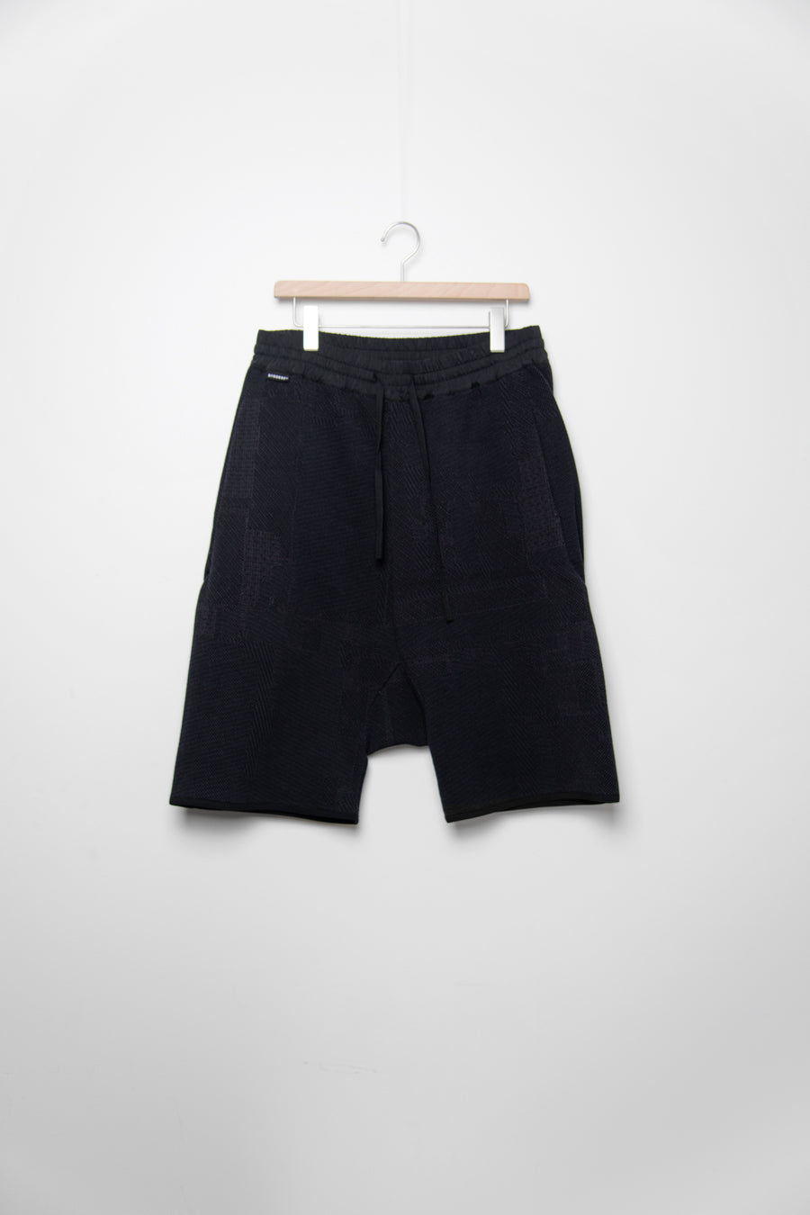 Cotton Knit Short Black