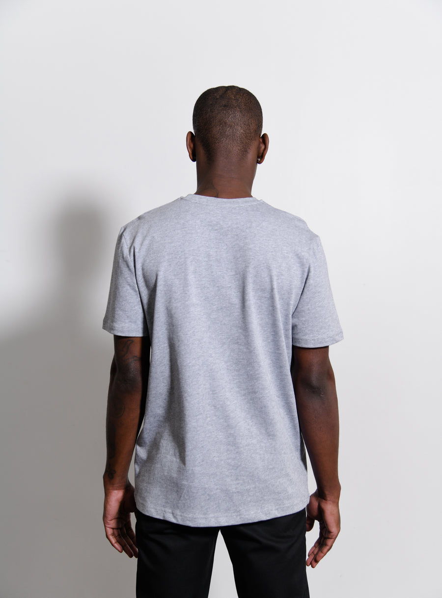 Fire Tee Heather Grey