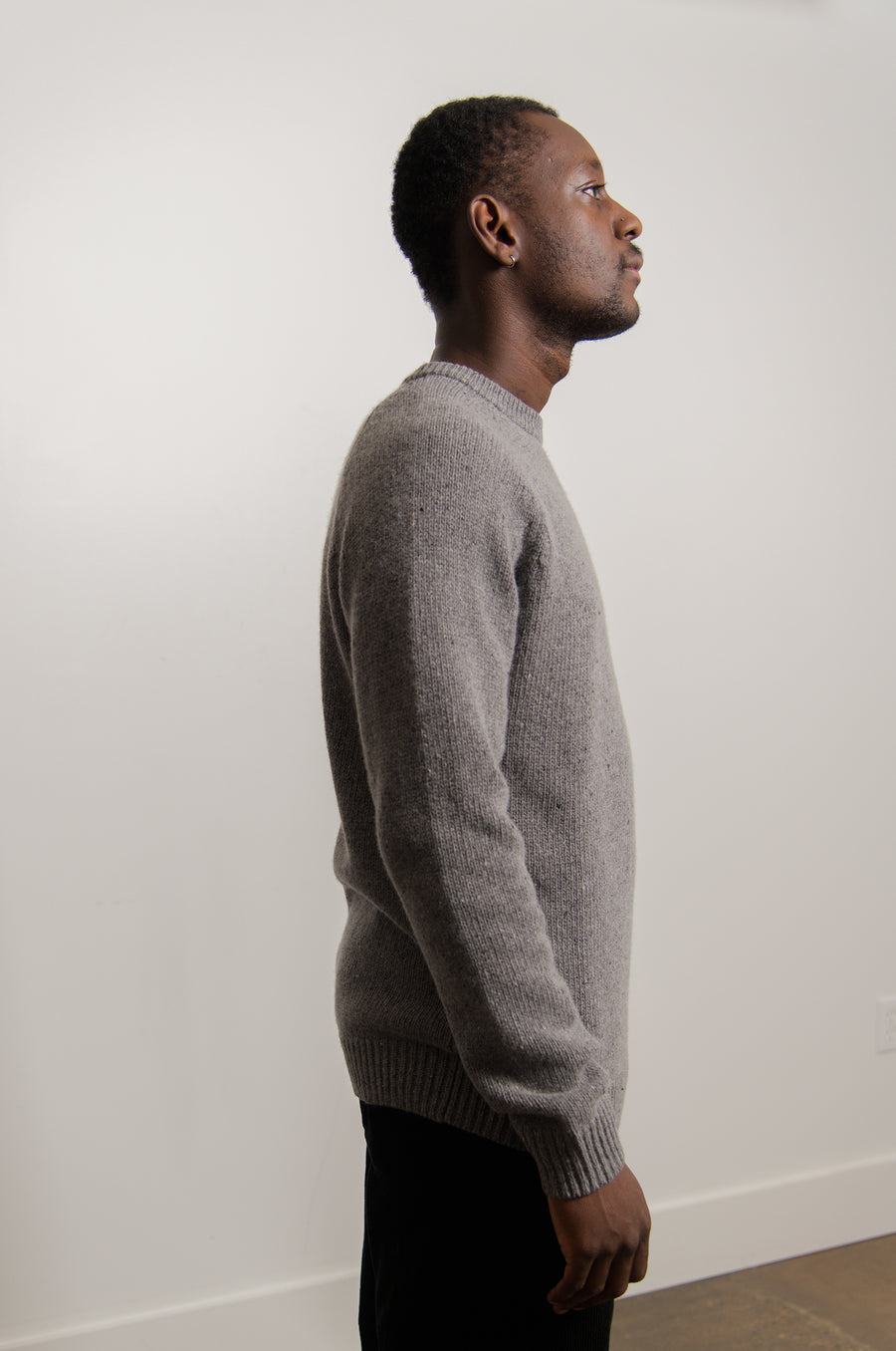 Anglistic Sweater Dark Grey Heather