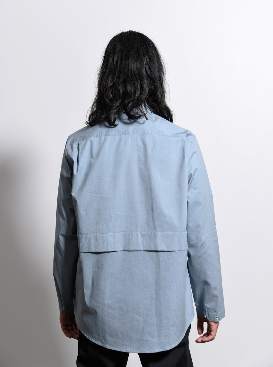 Ripstop Shirt Light Blue CGAW19CWOSHI01