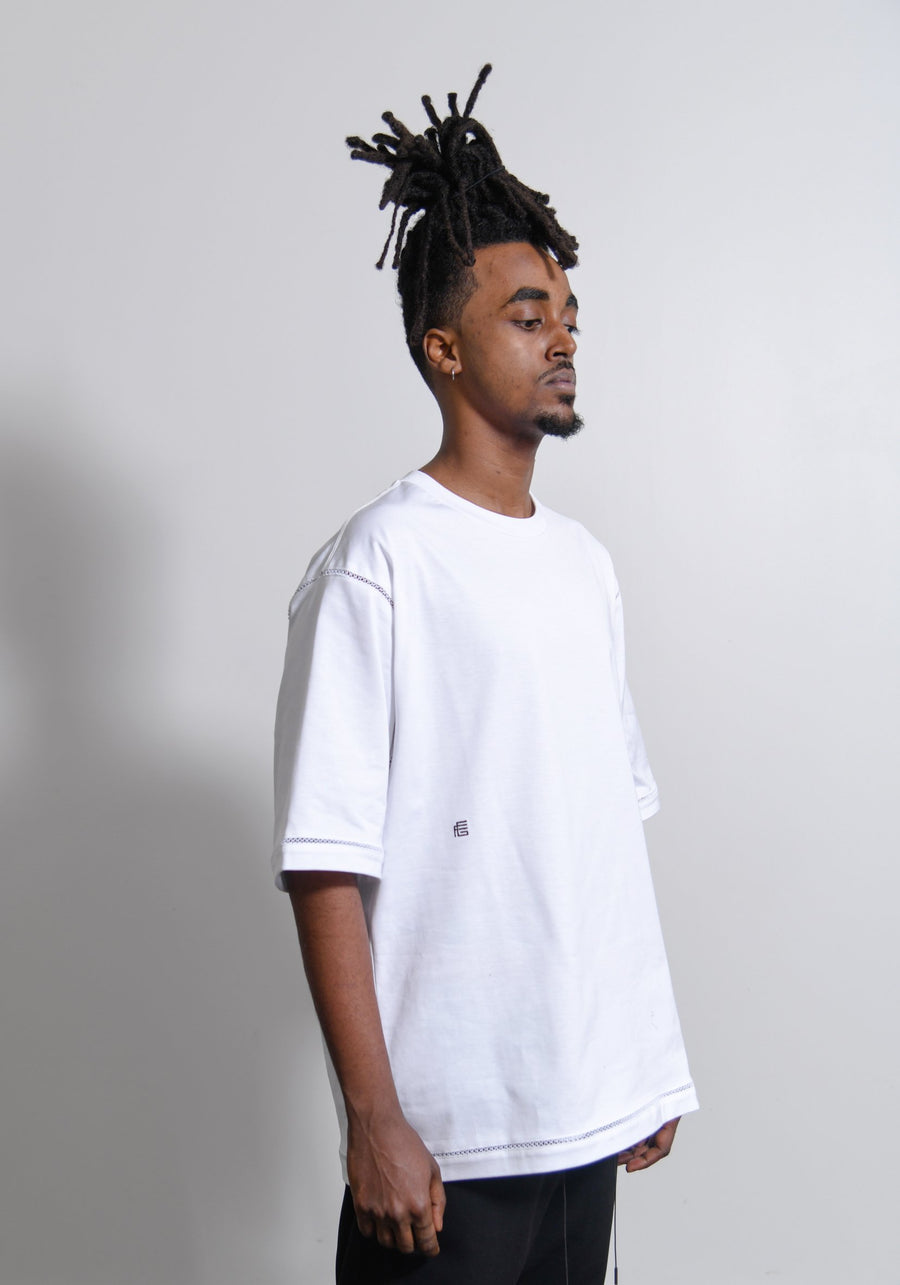 Relaxed Fit Tee White