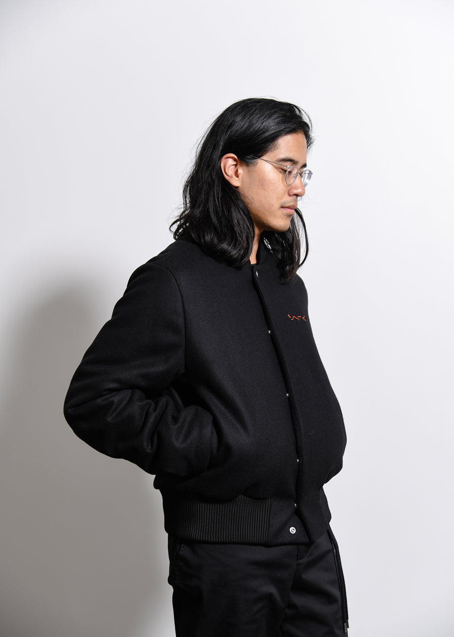Spector Bomber Jacket Black