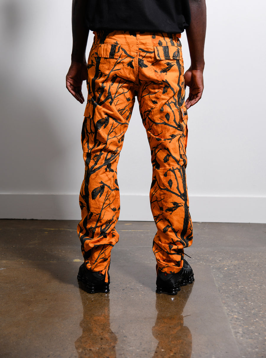 Aviation Pant Camo Tree Orange