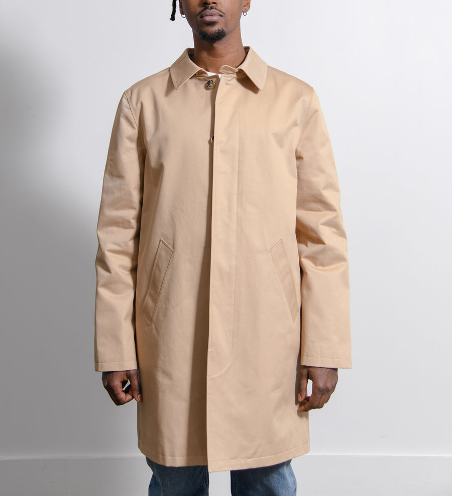 City Mac Coat Beige