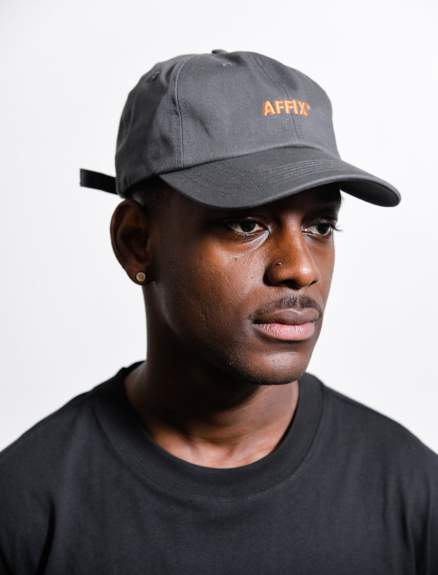 Logo Cap Grey/Orange