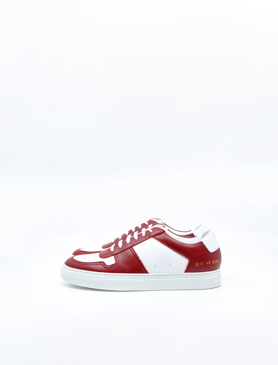 Bball Low Duo Tone White/Red