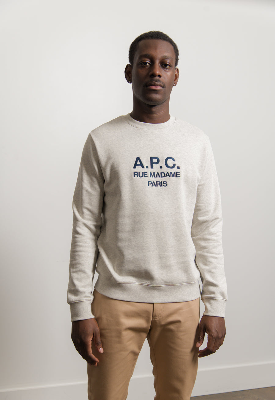 Rufus Crewneck Sweater Ecru