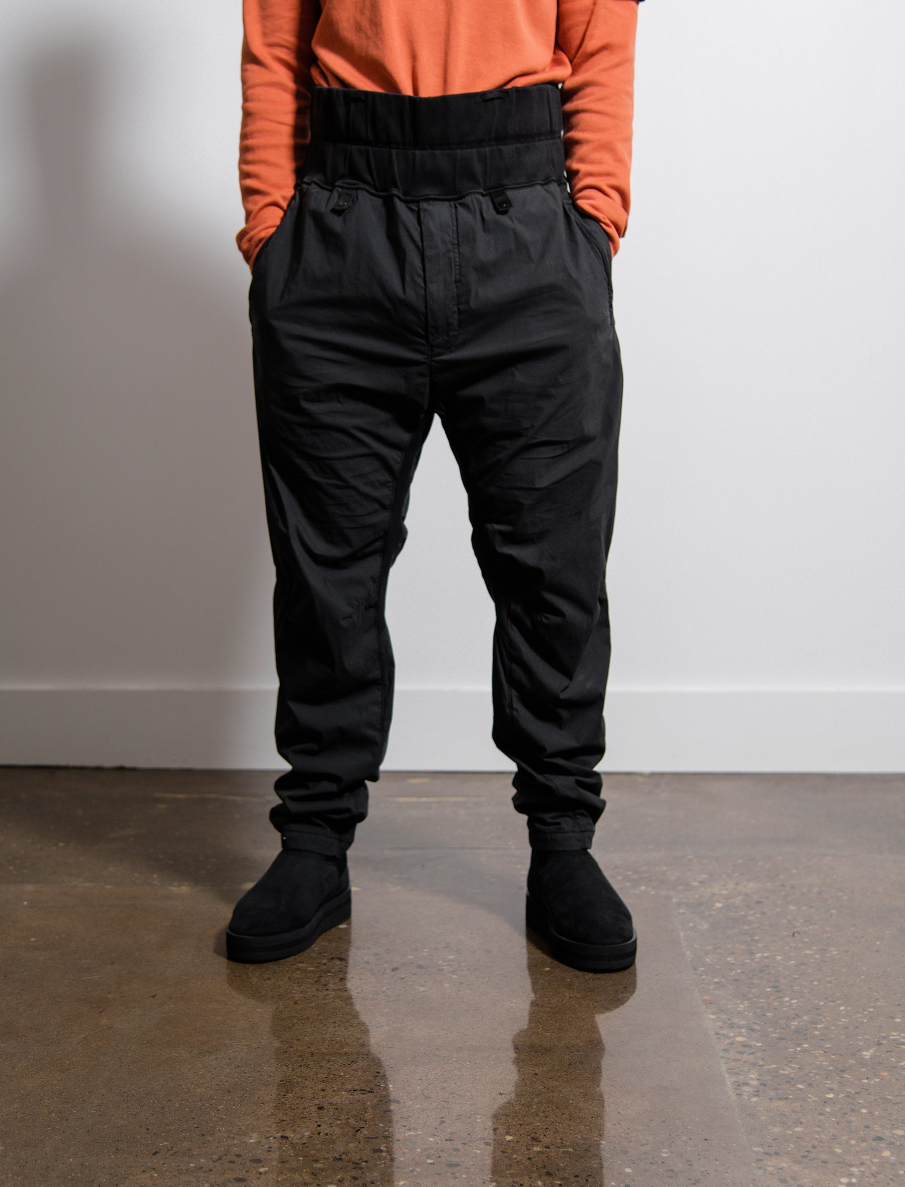 30105 Extended Wide Pant Black