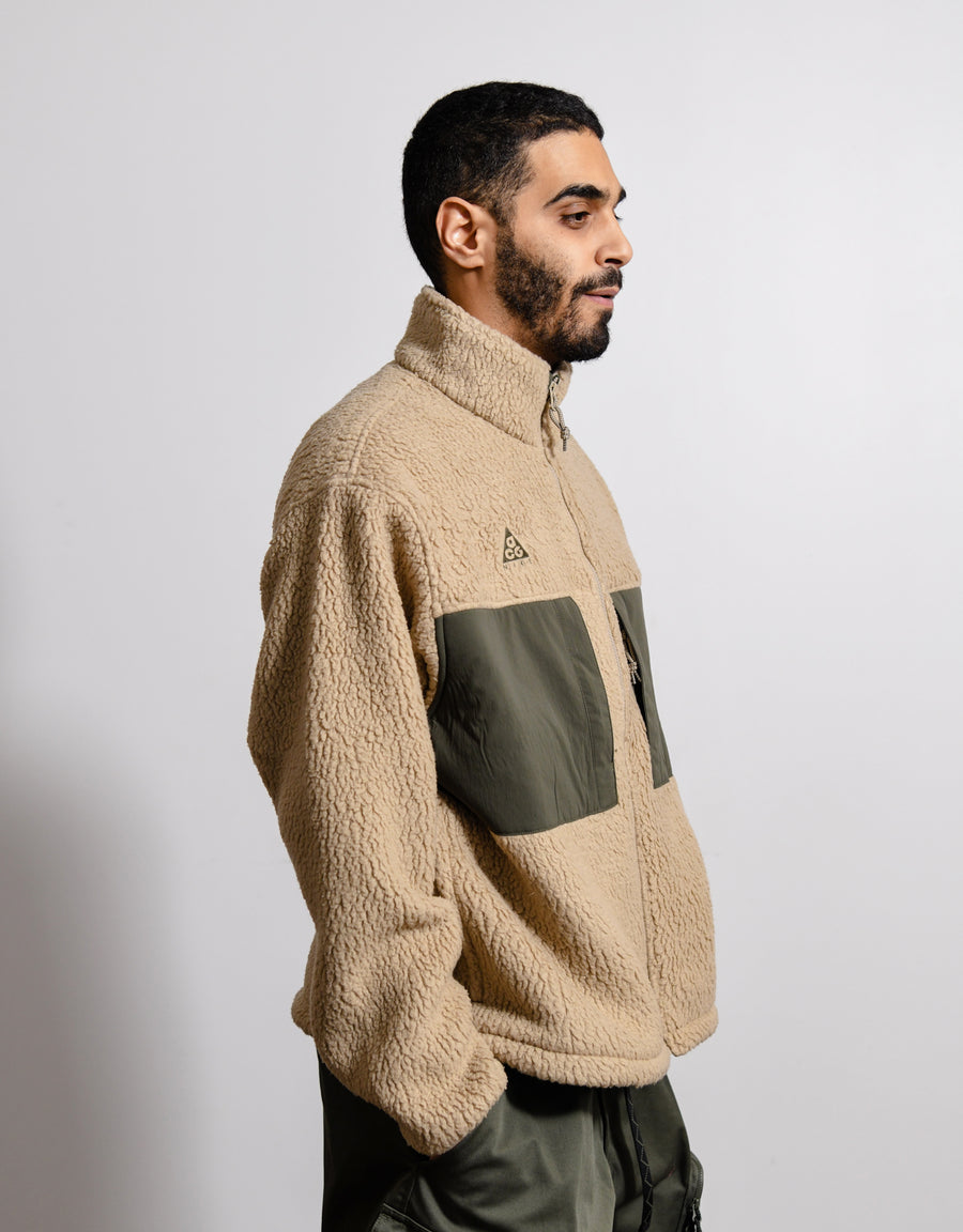 ACG Fleece Zip-Up Sweater Khaki/Cargo Khaki CT2949-247