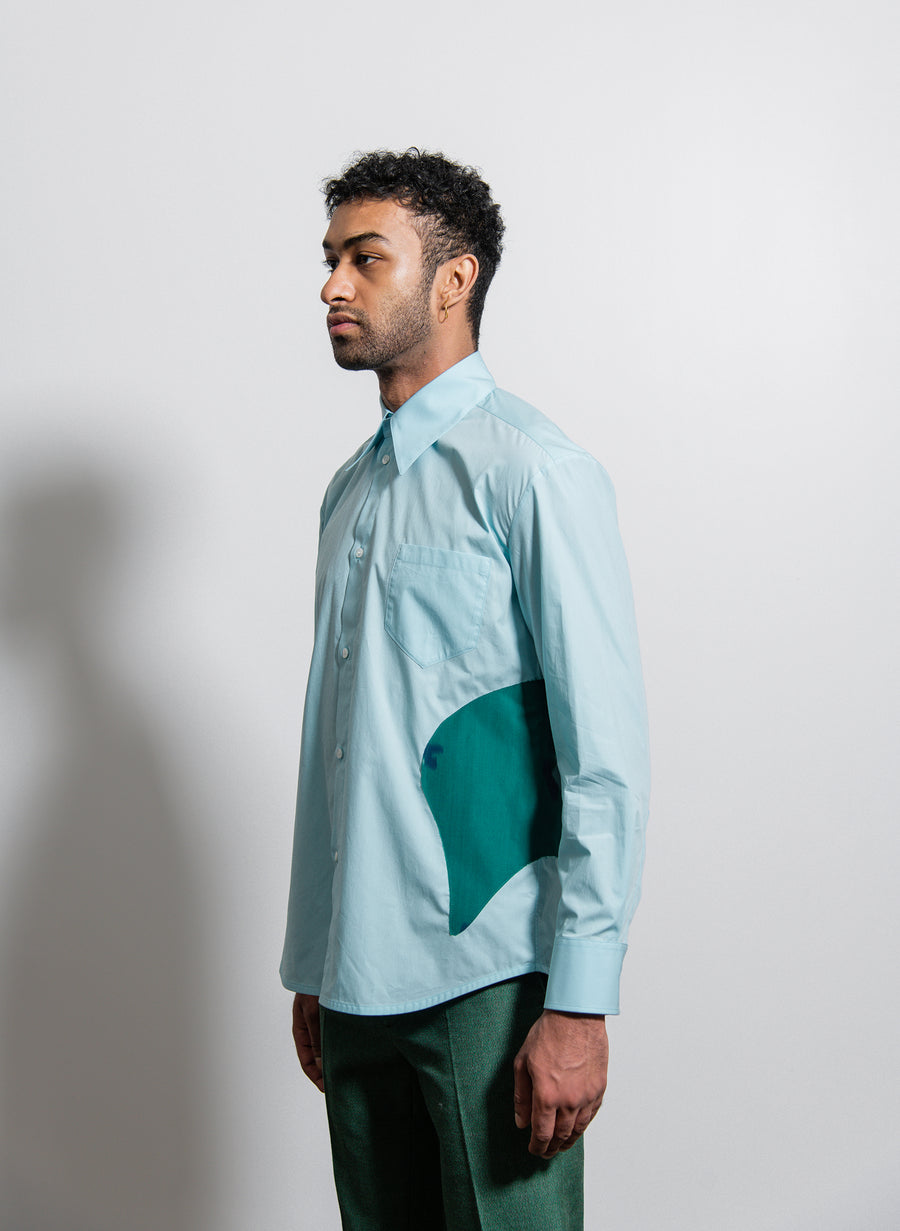 Leylim Shirt Sky Blue