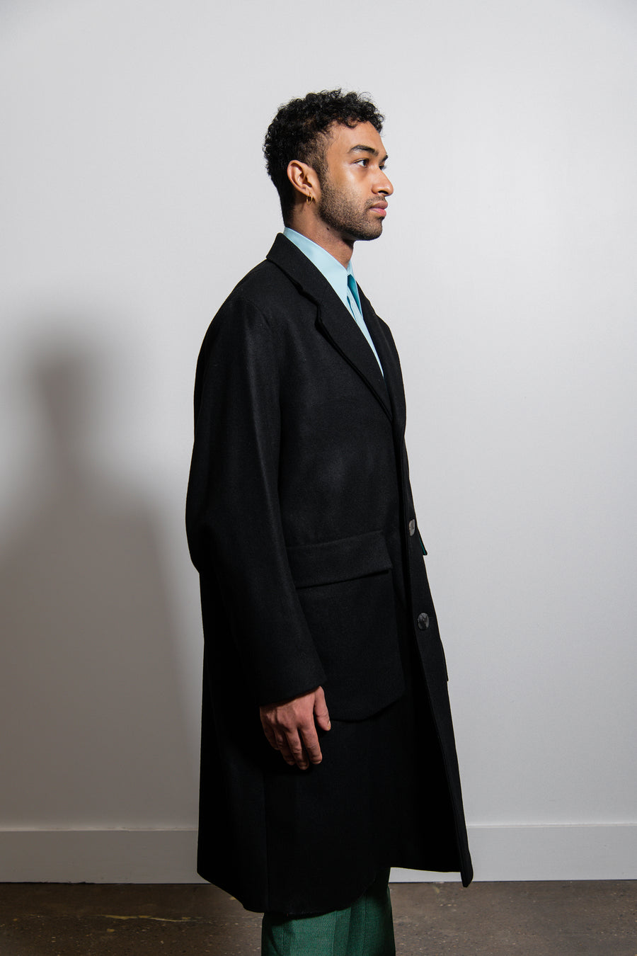Bargey Coat Black