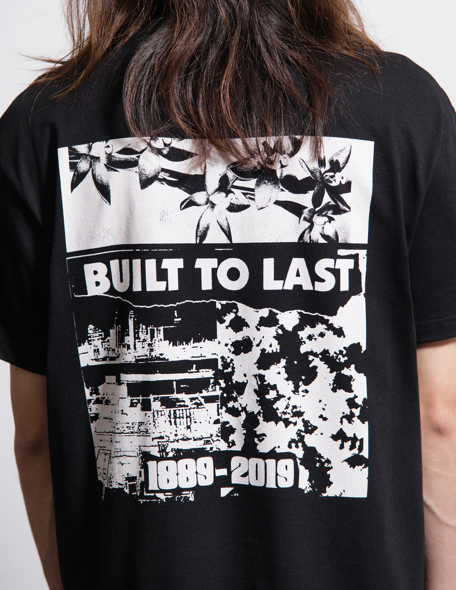 Industry Tee Black/White