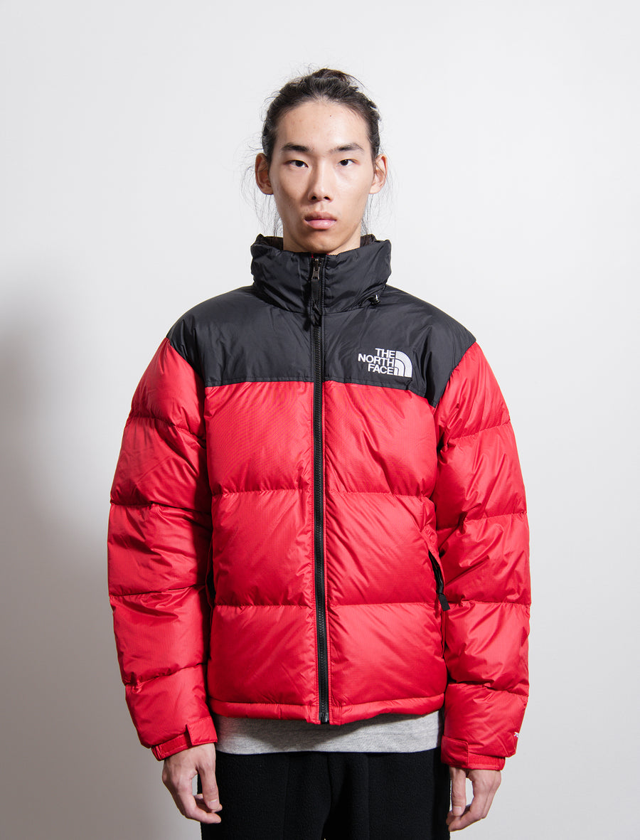 1996 Retro Nuptse Jacket Red