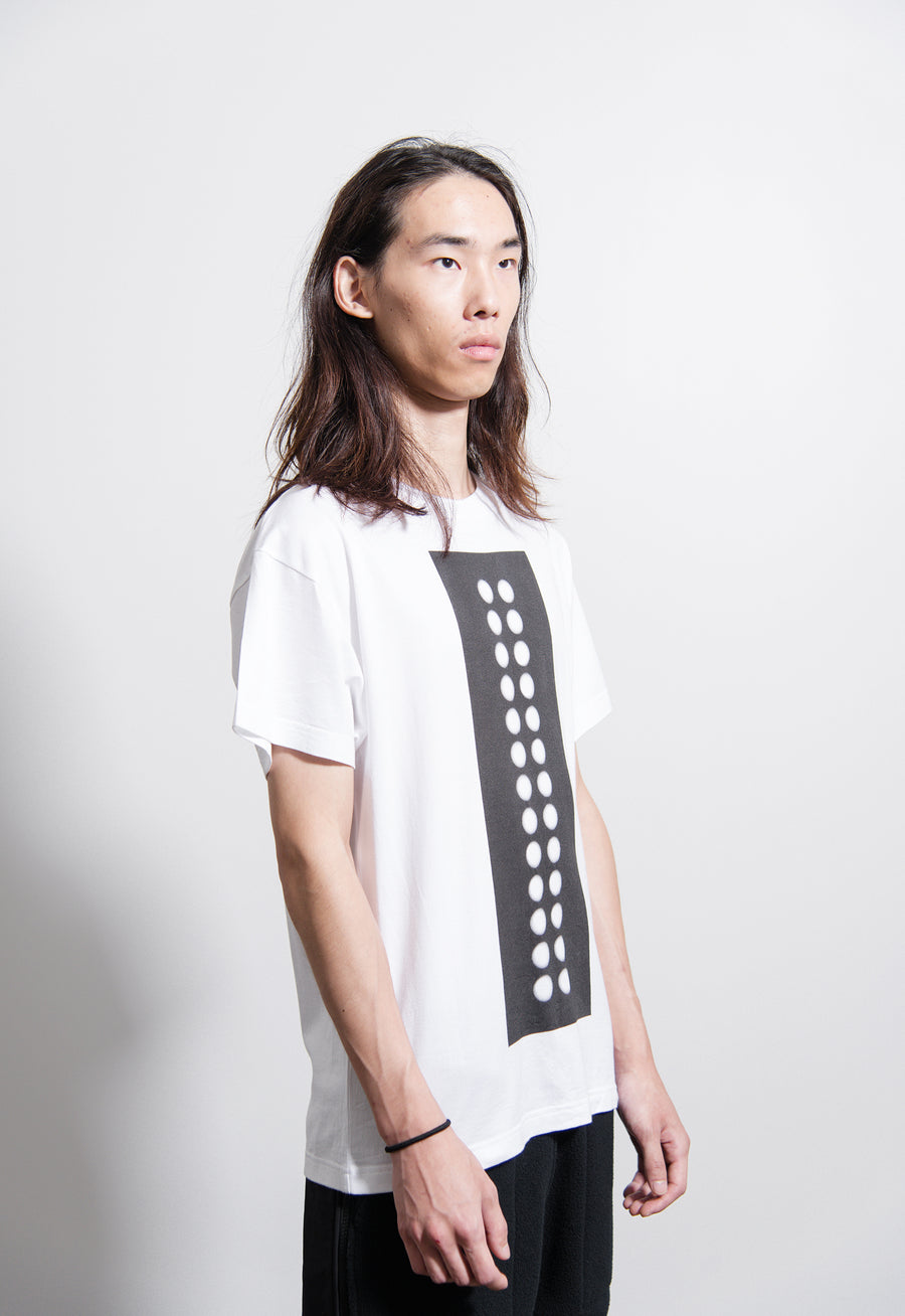 Graphic Short Sleeve Tee White/Black
