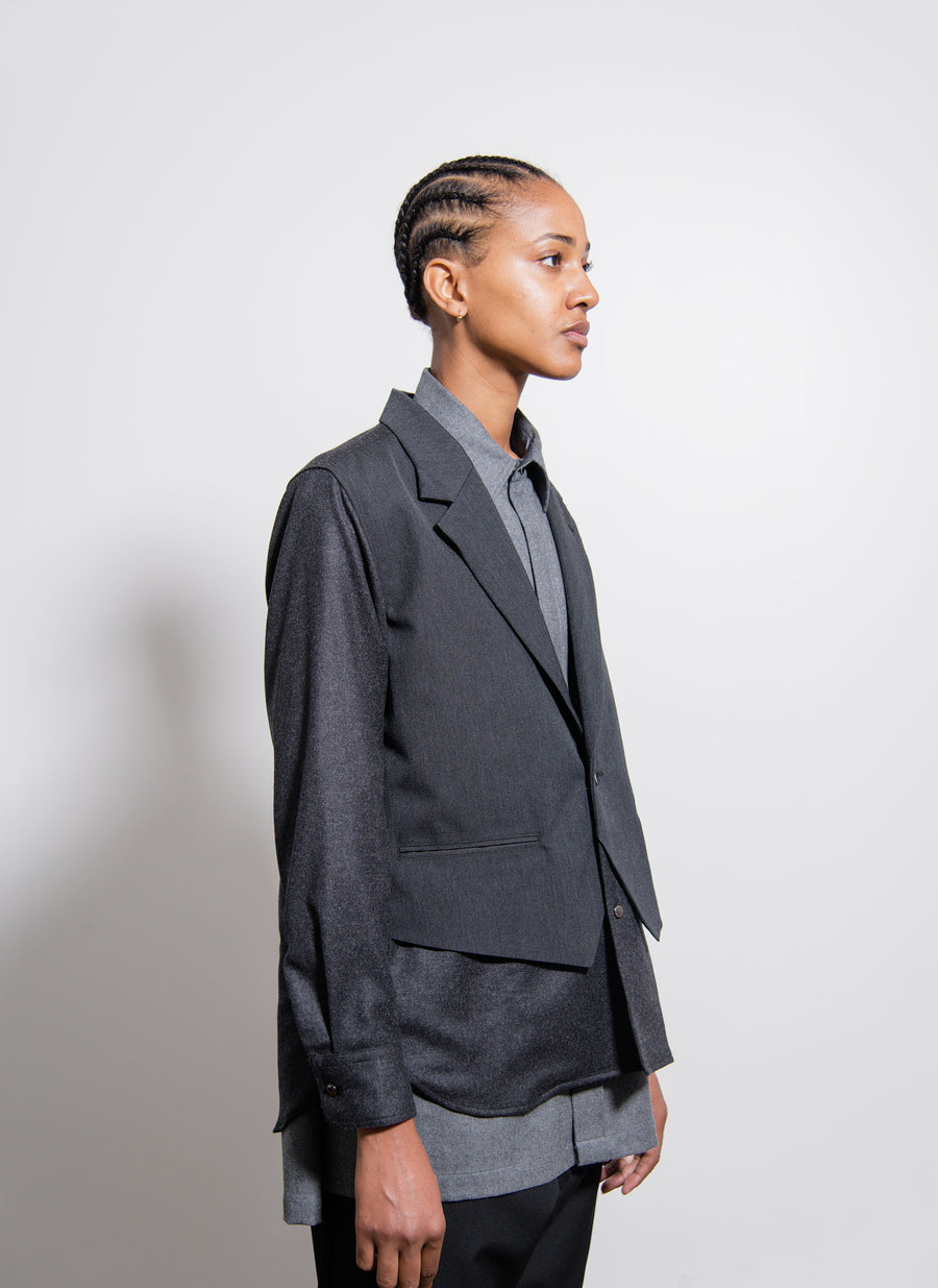 Tailored Shirt Charcoal