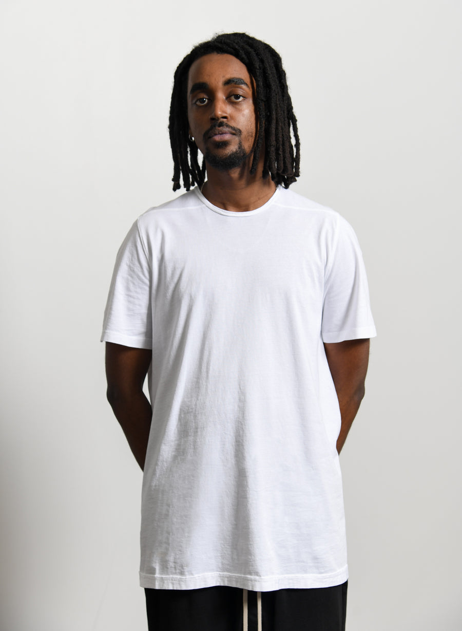 Level Tee Chalk White